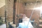 Санузел после демонтажа