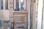 Кухня после демонтажа