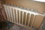 Демонтаж чугунного радиатора