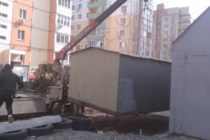 демонтаж гаража (Москва и московская область)