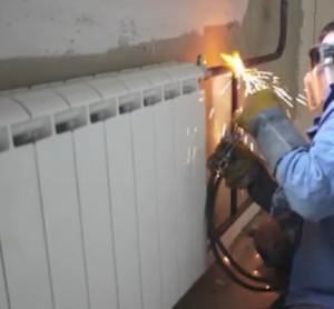 Демонтаж отопления (Москва и московская область)