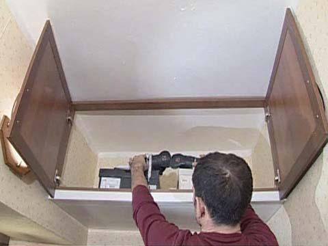 Как сделать антресоль над дверью своими руками видео