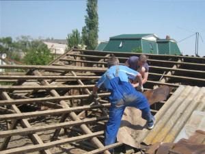 Демонтаж обрешетки крыши (Москва и московская область)
