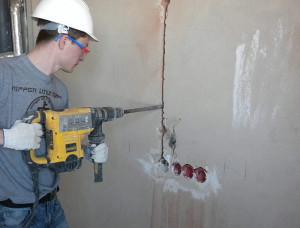 Штробление стен под электропроводку (Москва и московская область)