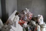 Подготовка мусора к вывозу. На объекте всегда порядок