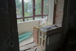 Демонтаж оконных блоков, погрузка в контейнер