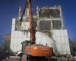 Демонтаж промышленных зданий (Москва и московская область)