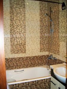 Установка смесителя с душем