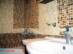 Установка аксессуаров в ванной