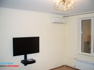 Монтаж кондиционера, установка и подключение телевизора