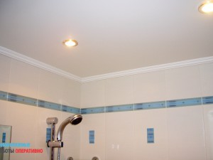 Монтаж подвесного гкл потолка в санузле