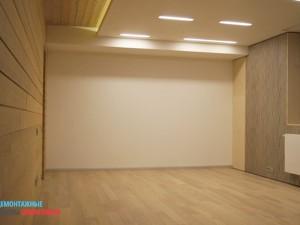 Комплекс черновых и чистовых отделочных работ - комната в коттедже после работ