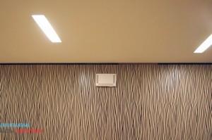Облицовка стен в коттедже декоративными панелями osb