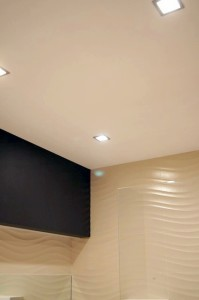 Монтаж и покраска подвесного потолка из влагостойких листов (гклв)