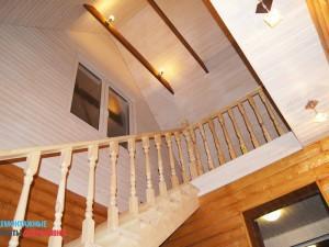 Монтаж лестницы на 2-й этаж