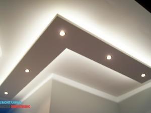 Установка и подключение диоднойя подсветки потолка