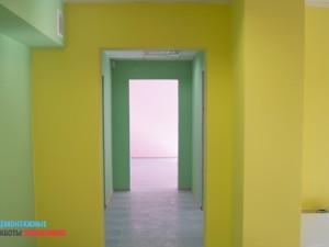 Косметический ускоренный ремонт офиса