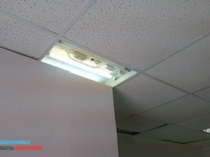 Освещение требует диагностики и ремонта