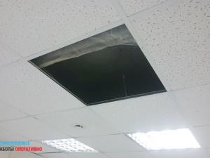 Нужен ремонт подвесного потолка