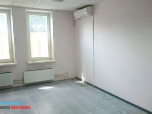 Требуется устранение дефектов стен и покраска