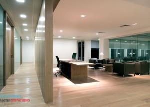 Отделка стен офисных помещений в Москве и московской области