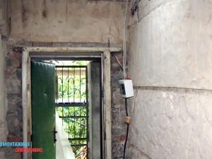 Демонтаж электропроводки в загородном доме