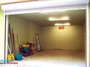 Косметический ремонт гаража