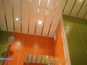 Врезка светильников в подвесной потолок