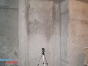 Штукатурка стен по лазерному уровню