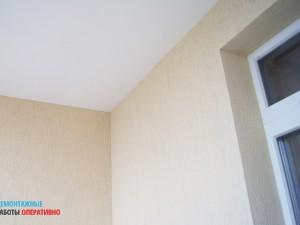 Чистовая отделка балкона
