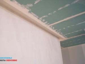 Подготовка подвесного потолка к покраске