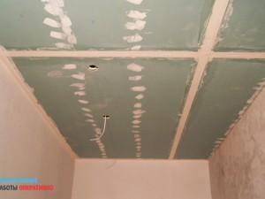 Малярные работы по потолку