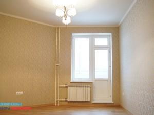 Покраска потолка, поклейка обоев, укладка ламината, замена батареи в комнате